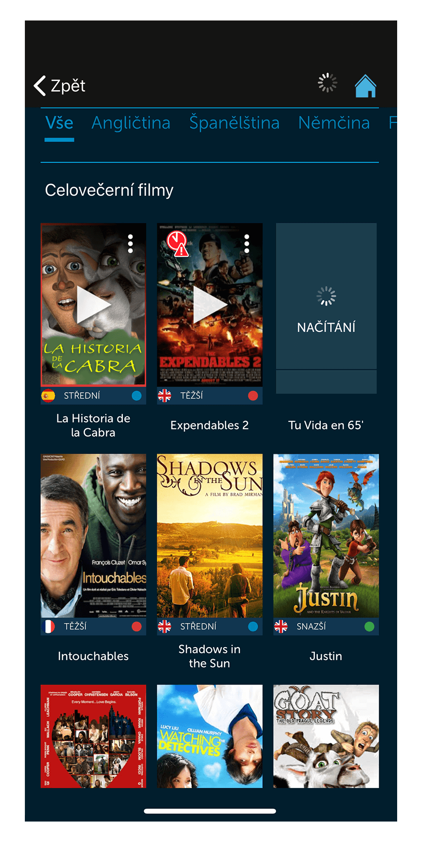Movies library - New Design